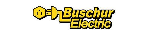 Buschur Electric logo-gold
